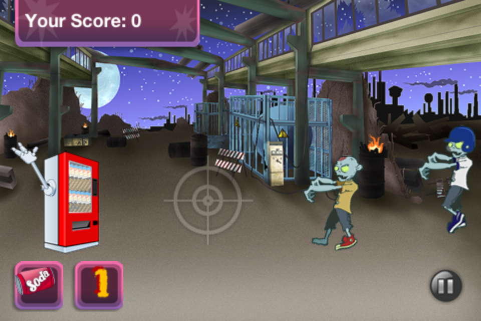 Screenshot Snack WarZ Free