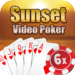 Aces Video Poker at Sunset Casino - Free Card Game